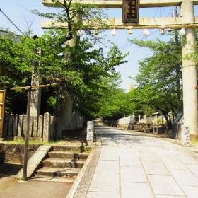 向日神社、境内にプラネタリウムもあります。