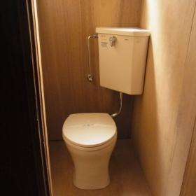トイレはリフォーム済み