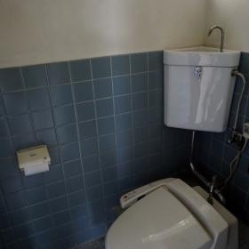 トイレは和式→洋式に変更。