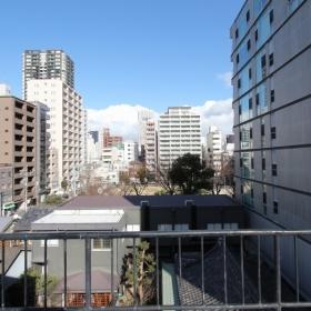屋上からは堀江公園も見えます。